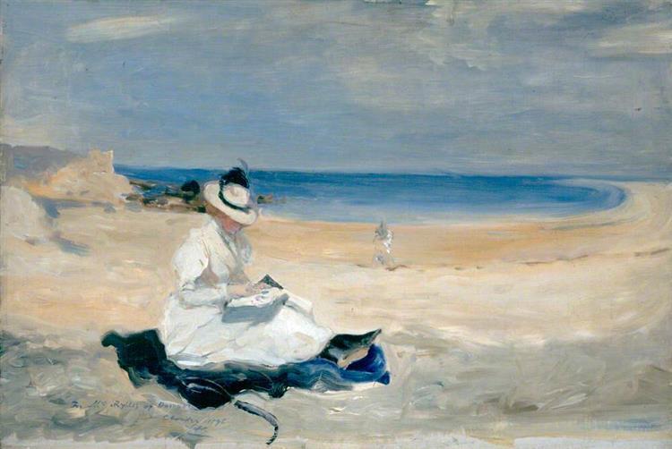 The Shore at Dornoch, Highlands, 1896 - Charles Conder