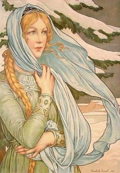 Winter - Elisabeth Sonrel