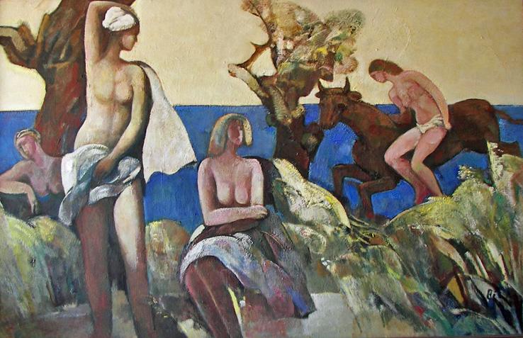 Abduction of Europa, 1982 - Rudolf Bér