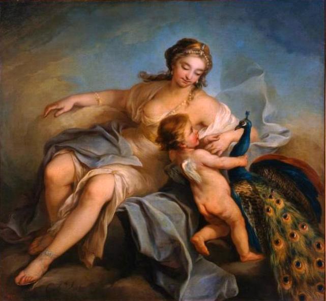 Juno, 1736 - Шарль Андре Ван Лоо