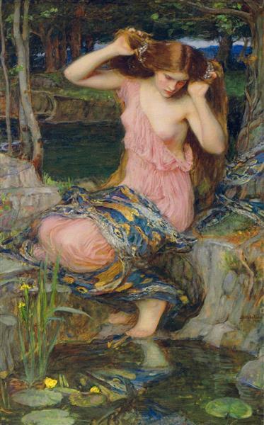 Lamia, 1909 - John William Waterhouse
