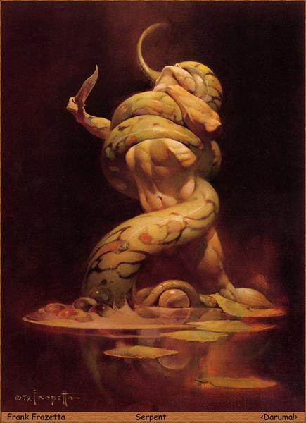 Serpent - Frank Frazetta