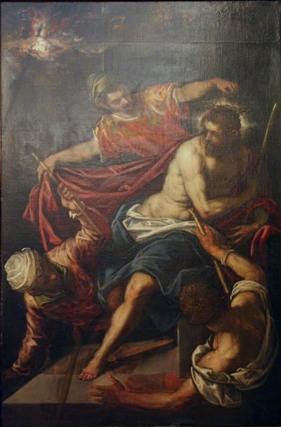 Christ Crowned with Thorns - Domenico Tintoretto