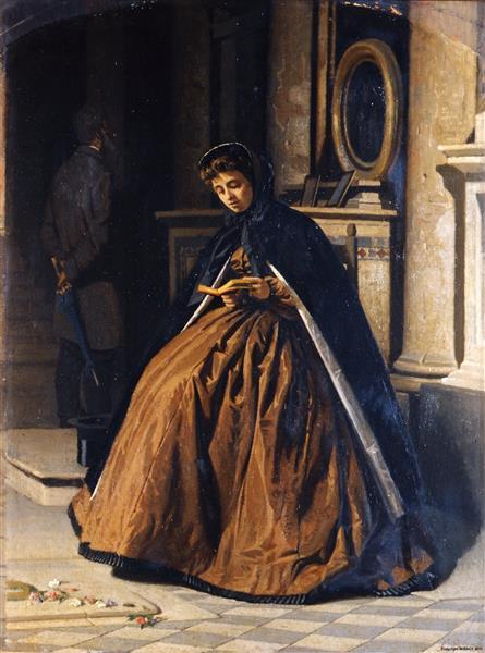 Oration (The Prayer), 1866 - Giuseppe Abbati