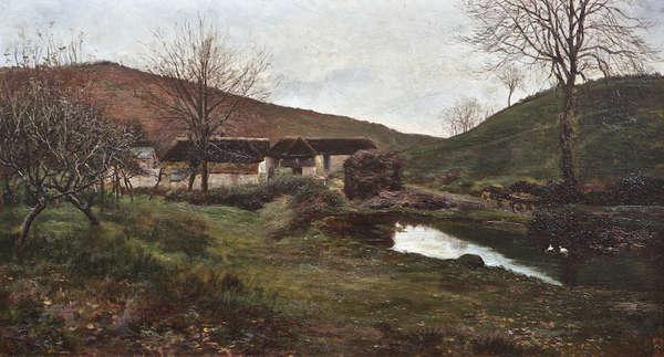 Landscape - Frank O'Meara