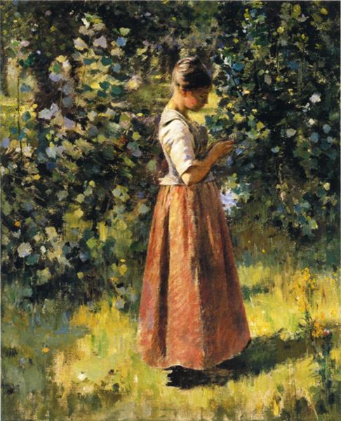 In the Grove, 1888 - Theodore Robinson
