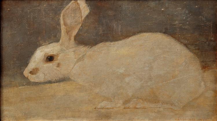 White Rabbit, 1909 - Jan Mankes