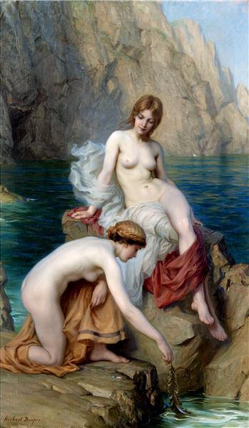 By Summer Seas, 1912 - Herbert James Draper