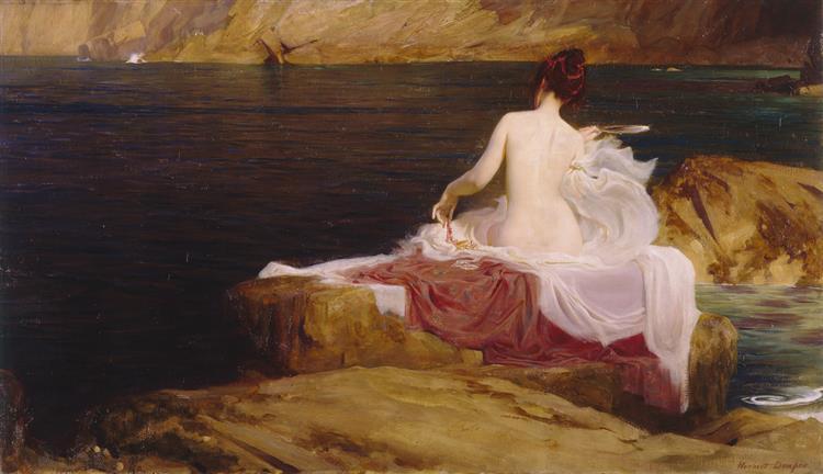 L'île De Calypso, 1897 - Herbert James Draper