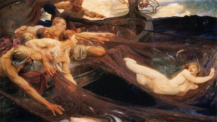 The Sea Maiden, 1894 - Herbert James Draper