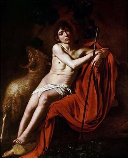 John the Baptist, c.1610 - Caravaggio