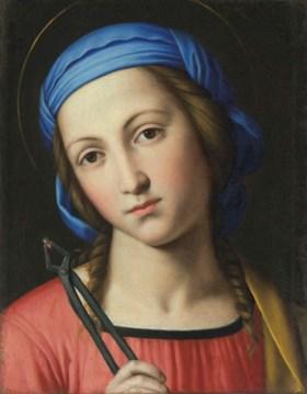 Saint Apollonia - Джованни Баттиста Сальви