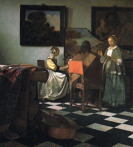 The Concert, c.1664 - 維梅爾