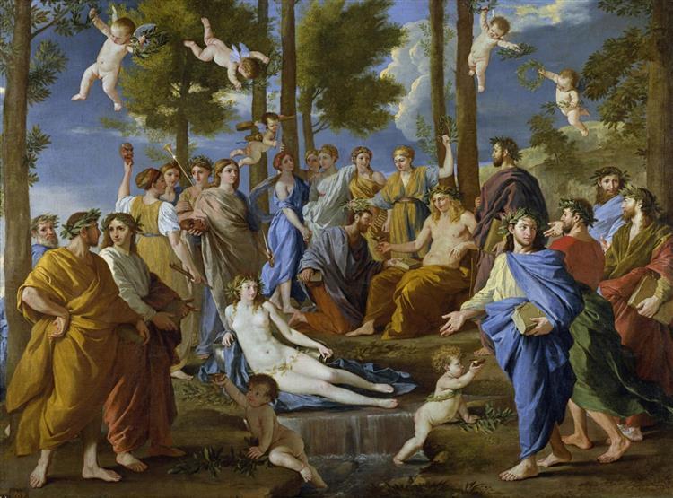 Apollo and the Muses, c.1630 - Nicolas Poussin