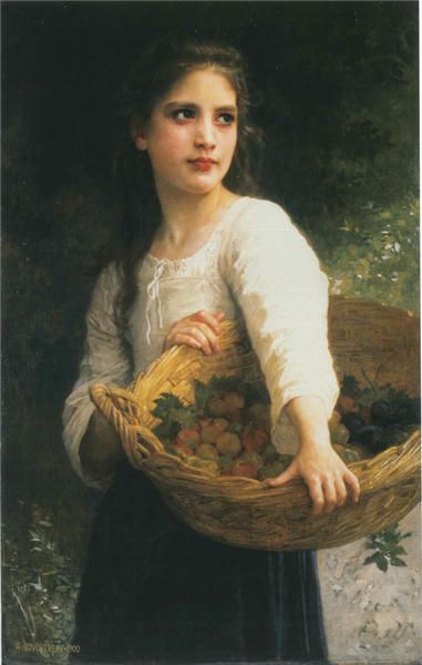 The Plums, 1900 - William-Adolphe Bouguereau