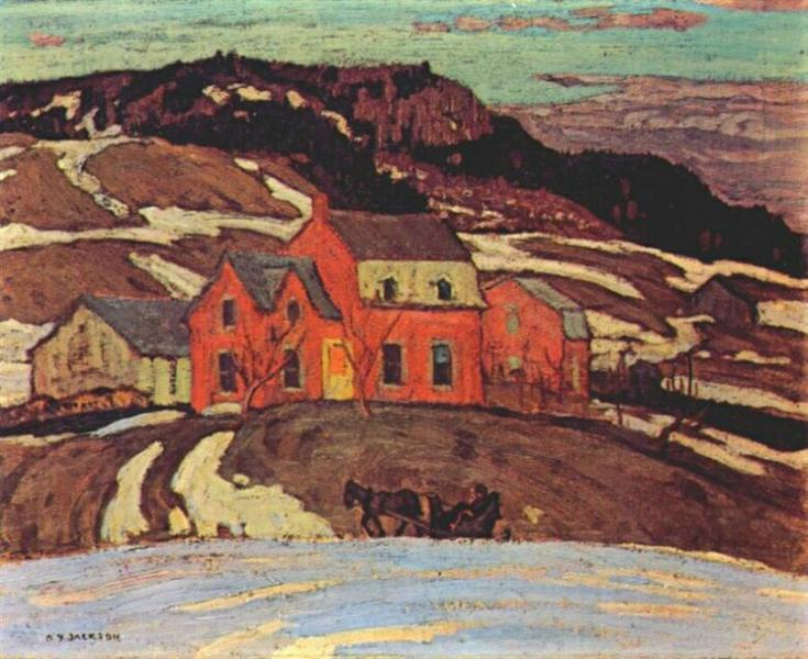 Early Spring, Quebec, 1923 - A. Y. Jackson