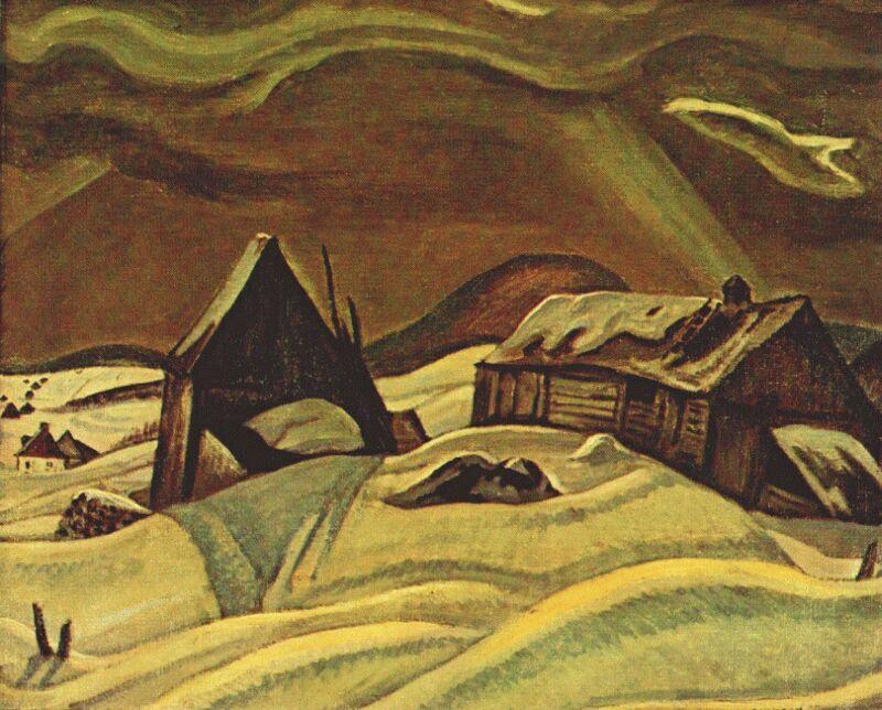 Grey Day, Laurentians, 1928