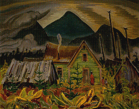 Indian Home, 1927 - A.Y. Jackson