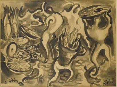 Balık Pazarı, 1930 - Abidin Dino
