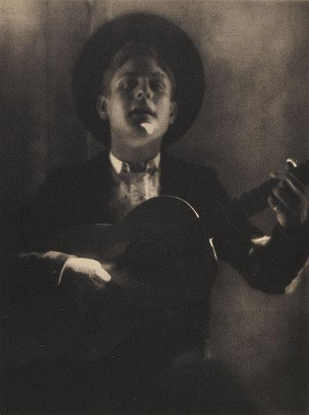 Guitar Player of Seville, 1908 - Adolphe de Meyer