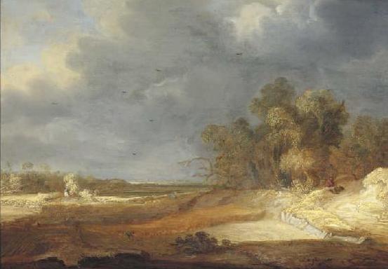Landscape, 1639 - Adriaen van Ostade