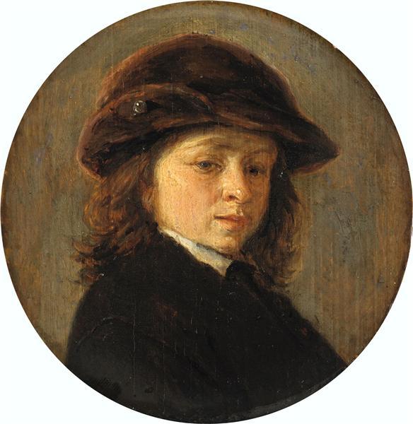 Portrait of a Boy, 1685 - Adriaen van Ostade