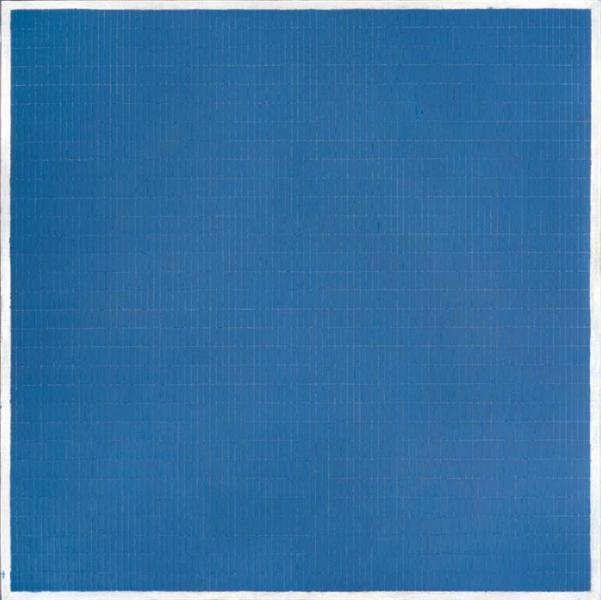 Night Sea - Agnes Martin