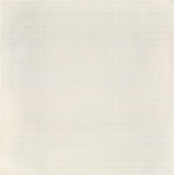 The Peach, 1964 - Agnes Martin