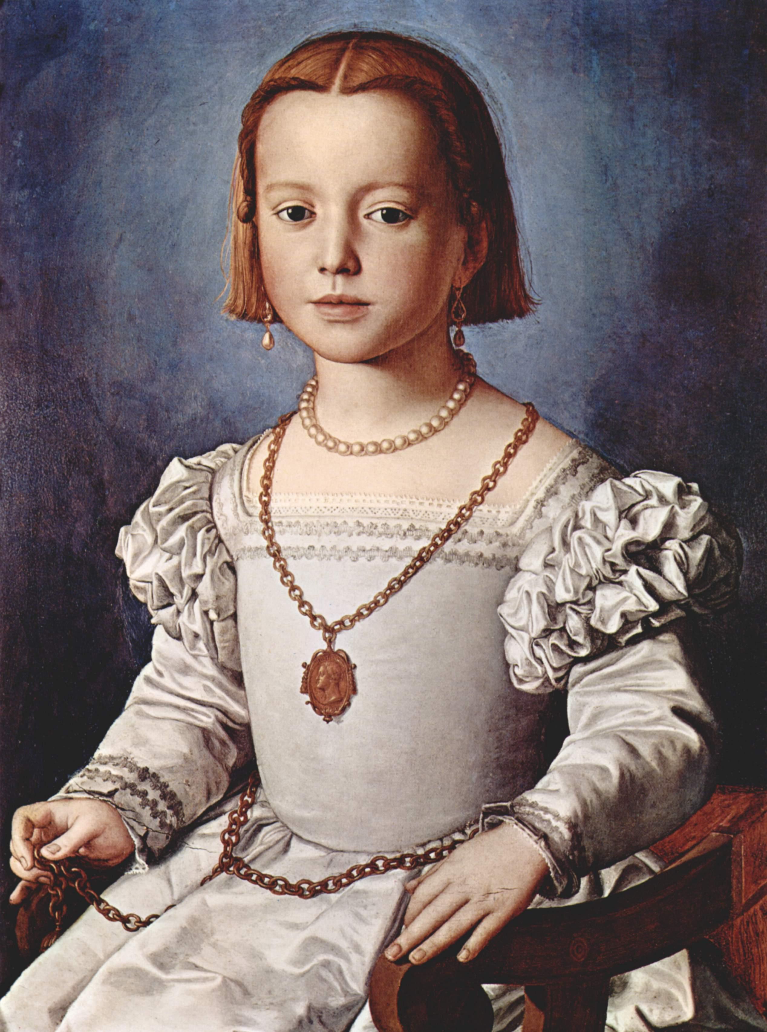 Portrait of Bia de' Medici, 1542
