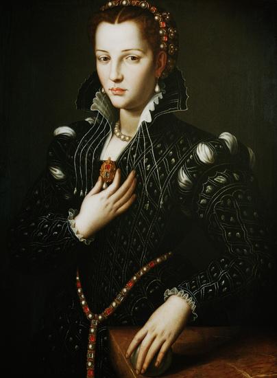Portrait of Lucrezia de' Medici, 1560 - Agnolo Bronzino