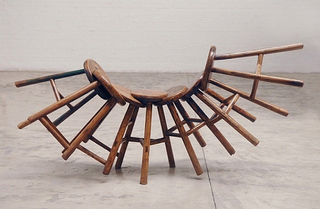 Jointed Stool, 2006 - Ai Weiwei