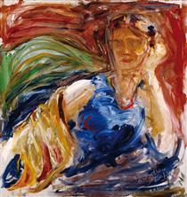 Portrait of Phyllis Sjöström - Akseli Gallen-Kallela