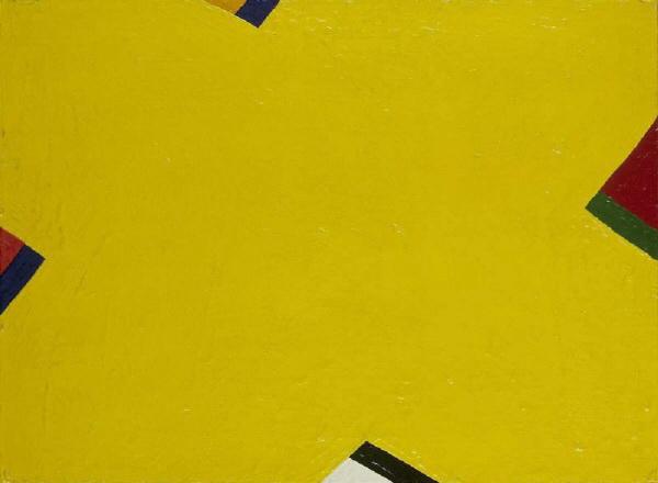 Yellow, 1965 - Al Held