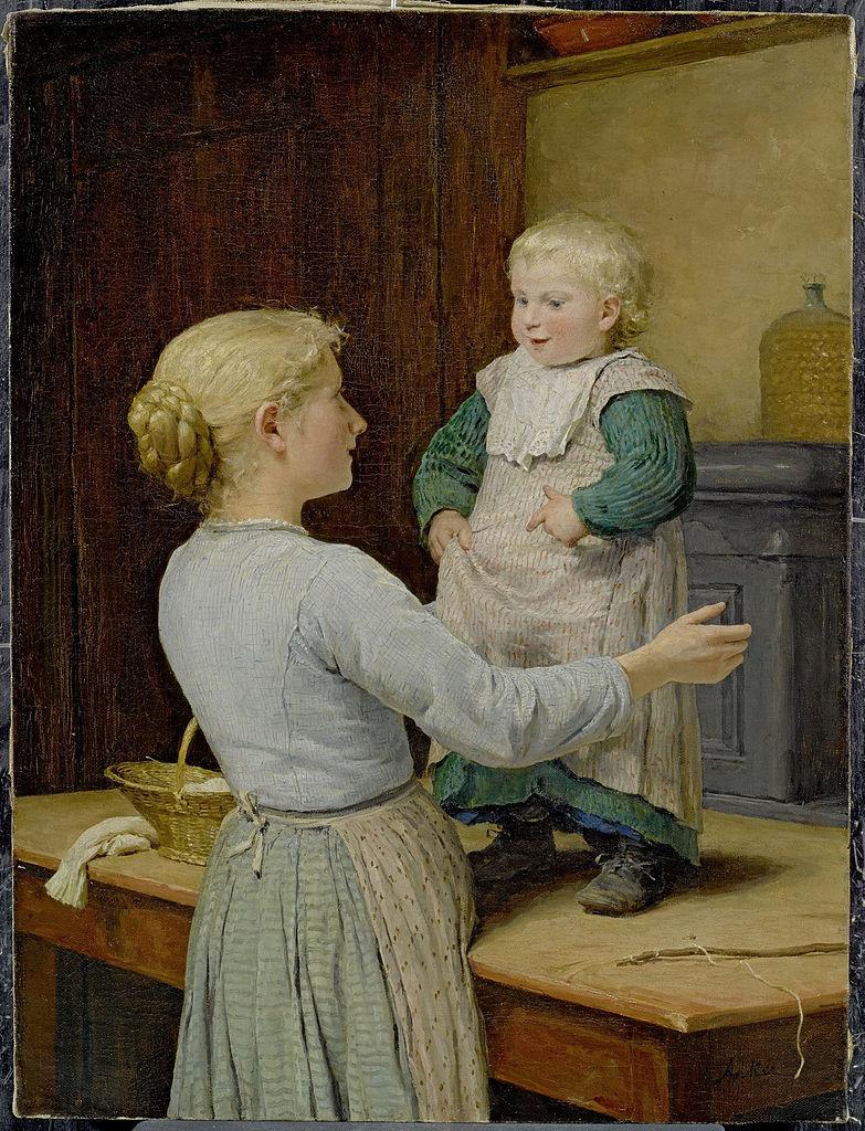 Die ältere Schwester, 1889
