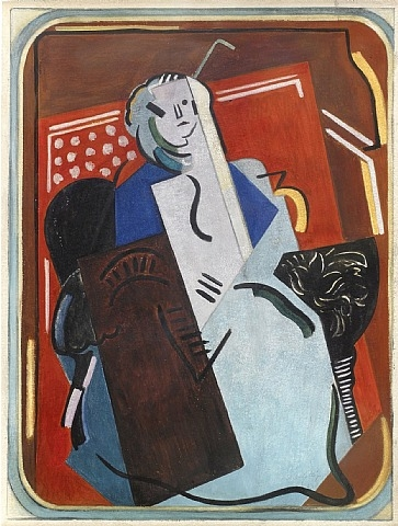 Femme au Fauteuil, 1923 - Albert Gleizes