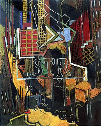 New York, 1915 - Albert Gleizes