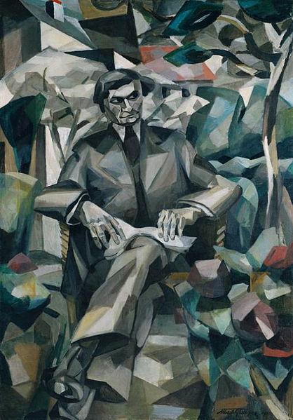 Portrait de Jacques Nayral, 1911 - Albert Gleizes