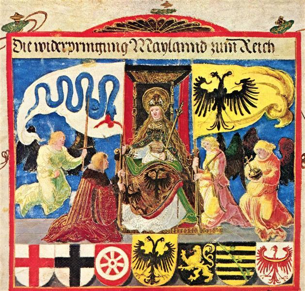 Emperor Maximiliantriumphal, 1513 - 1515 - Albrecht Altdorfer