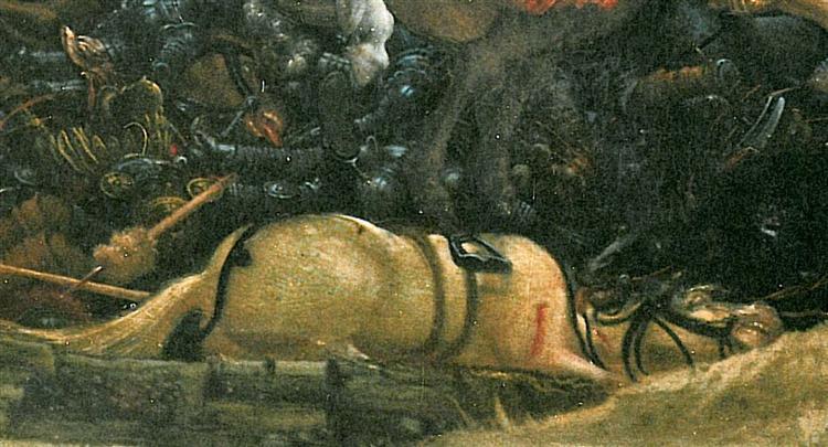The battle of Issus(fragment), 1529 - Albrecht Altdorfer