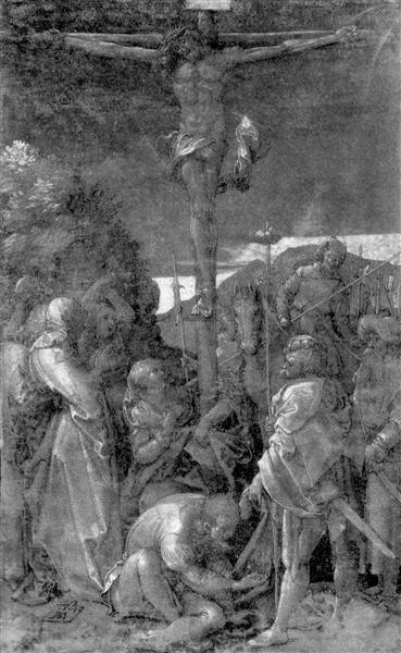 Christ on the Cross - Albrecht Durer