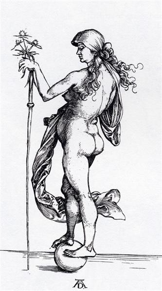 Fortune, 1495 - Albrecht Durer