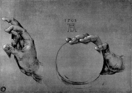 Hand of God the Father - Albrecht Durer