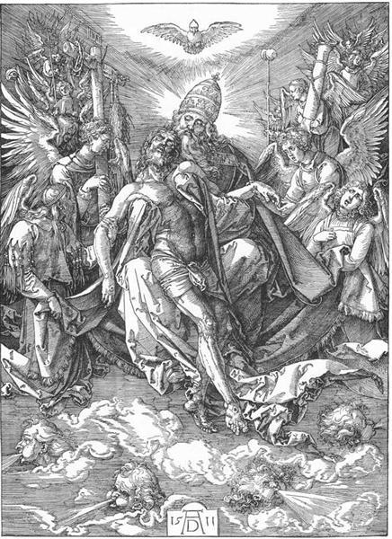 The Holy Trinity, 1511 - Albrecht Durer - WikiArt org