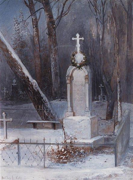 Grave, 1884 - Alexeï Savrassov
