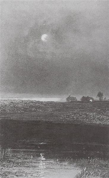 Night, 1894 - Aleksey Savrasov