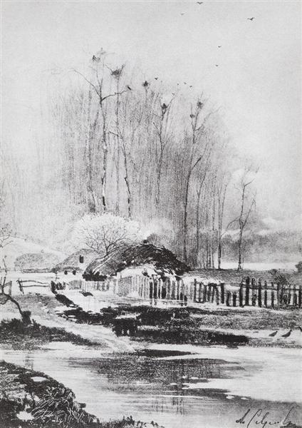 Strongly melts, 1894 - Aleksey Savrasov