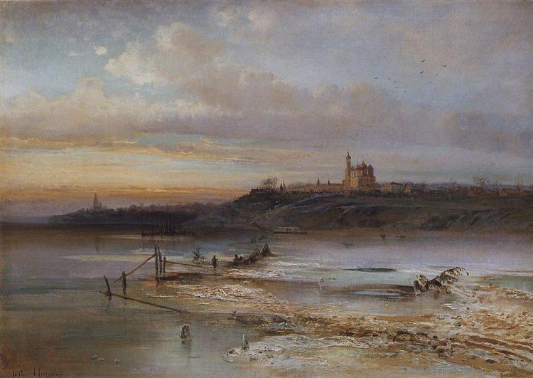 Thaw.Yaroslavl., 1874 - Aleksey Savrasov