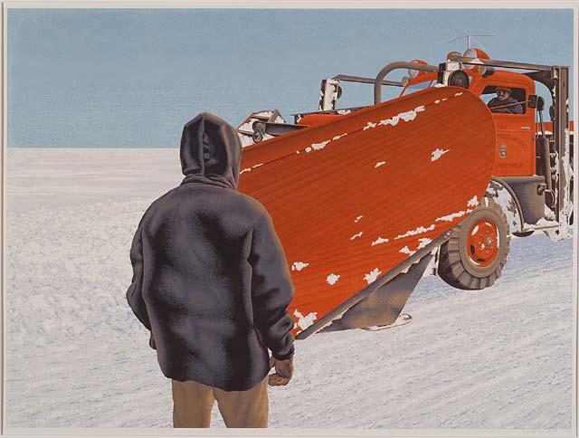 Snow Plow, 1967 - Alex Colville