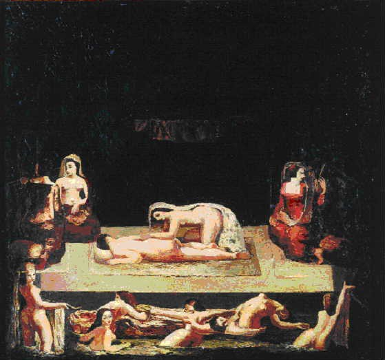 Bathing Women - Alexander Bazhbeuk-Melikyan