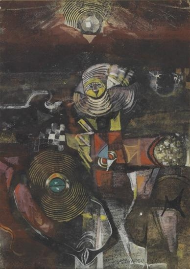 Untitled (Abstract Composition), 1964 - Alexander Boghossian